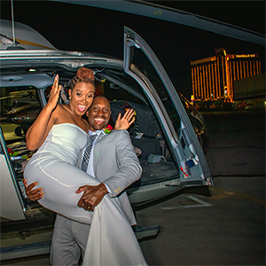 Las Vegas Weddings Helicopter