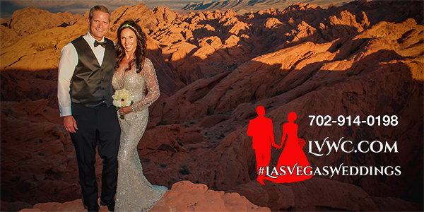 Valley of Fire Helicopter Wedding Photos